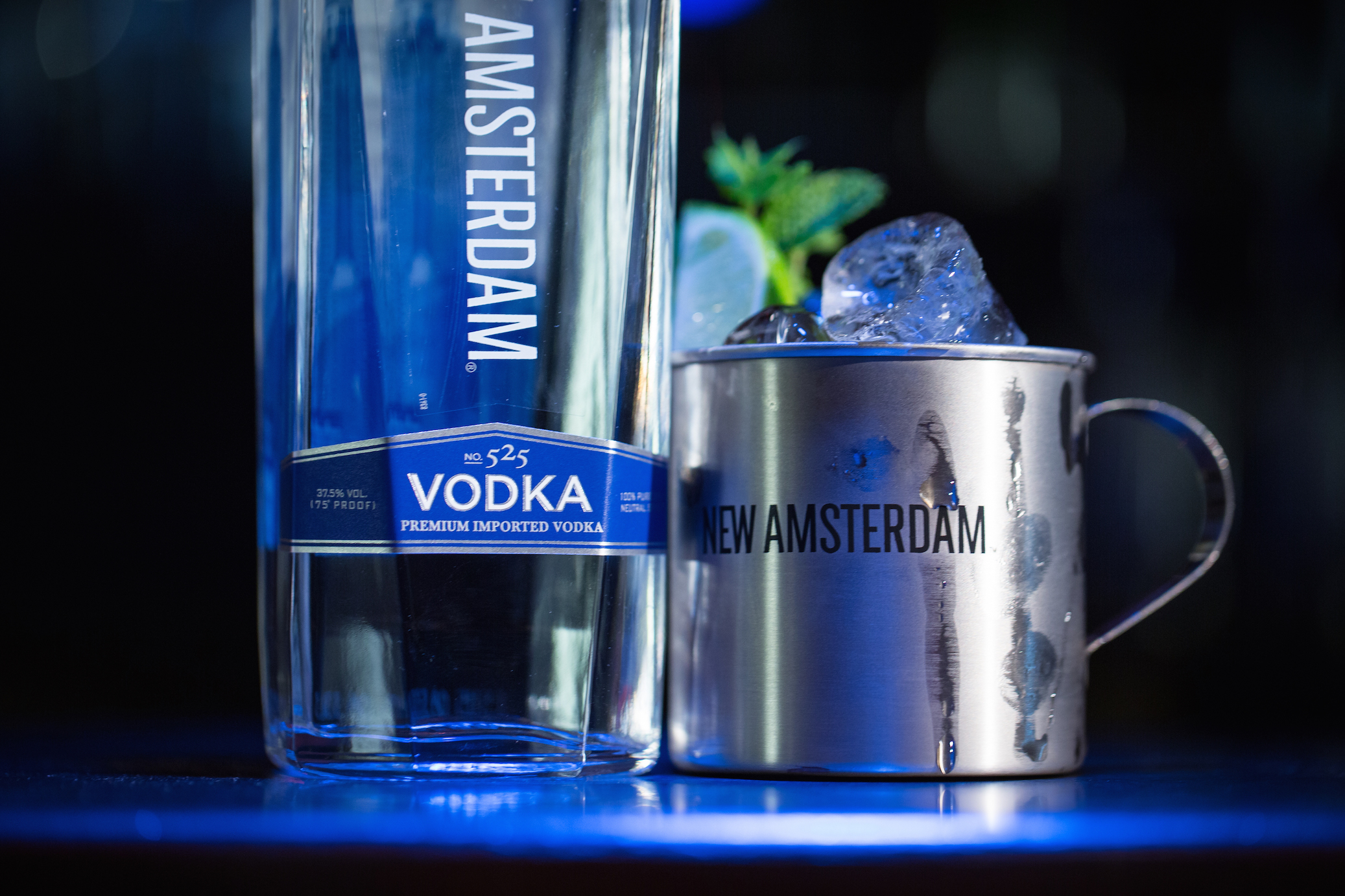 New Amsterdam Vodka - It's Your Town